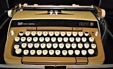 Vintage Smith Corona Galaxie Twelve Manual Typewriter Withhard Case Amp Ribbon