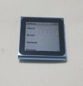 Apple Ipod Nano 6th Generation A1366 Mc689ll 8gb Blue Ebay