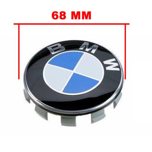 COMPATIBILE CON BMW Tappi Coprimozzo 68mm 1 2 3 4 5 6 7 Serie Z X Borchie cerchi