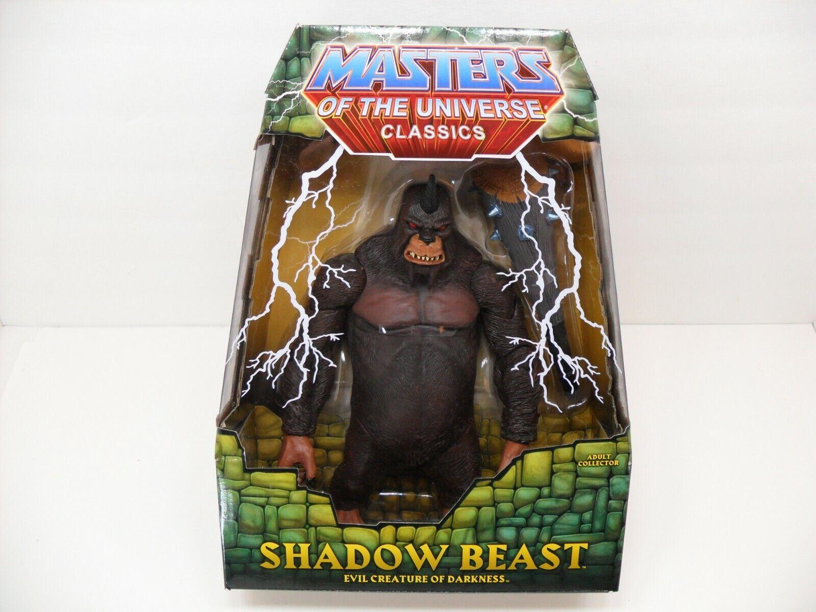 2010 Mattel Masters of the Universe MOTU Classics Shadow Beast Giant 10  Figure