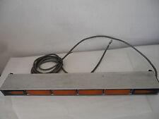 Whelen TA637A 52 Series Amber Traffic Advisor Light Bar Arrow stick Aluminum