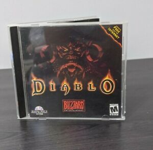 Diablo-Video-Game-PC-Original-Case-For-Windows-95-Blizzard