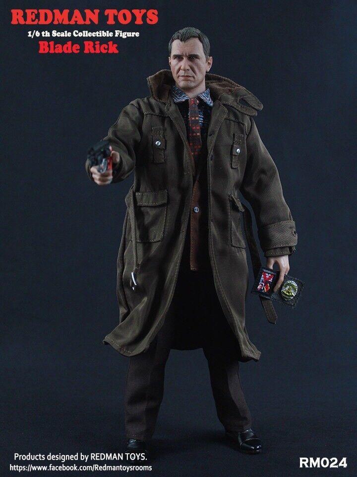 1/6 Escala Figura de colección Redman Juguetes Blade Runner Rick no iminime Hot Toys