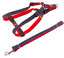 Harness-Leash-Collar-Jean-Style-Comfy-Dog-Pet-Puppy-Lead-Control-Heavy-Duty thumbnail 16