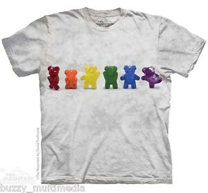 Gummy Bears Dancing Shirt Mountain Brand In Stock Funny Line