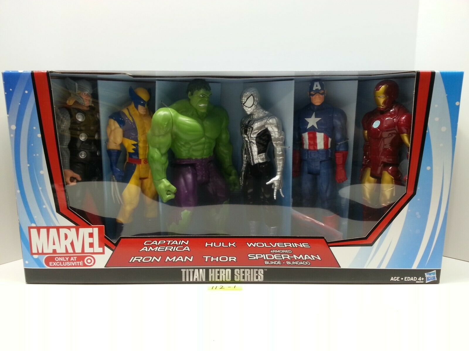 Titan Hero Series 12  Marvel-Exclusivo-Totalmente Nuevo-TARGET blindado Spiderman