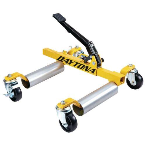 DAYTONA Self-Loading 5200lb Max Vehicle Weight Wheel Dolly Ultra-Mobile New
