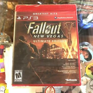SONY PLAYSTATION 3 PS3 FALLOUT NEW VEGAS ULTIMATE - SEALED - MISB - FREE SHIP -