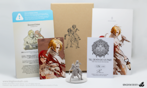 TILL DEATH DO US PART - KINGDOM DEATH figurine miniature résine resin rpg ENCORE