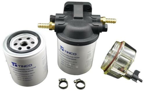 Outboard Engine Marine Water Separator Petrol Fuel Filter Assembly Mercury