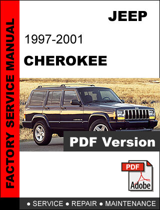 jeep cherokee 1997 1998 1999 2000 2001 diesel factory service repair rh ebay com 2001 jeep cherokee sport factory service manual 2000 jeep cherokee sport manual