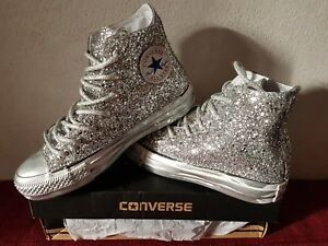 converse all star argent