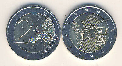 Commemorative Coin 2014 Slovenia Coronation Barbara Von CILLI