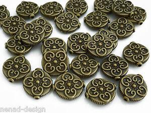20-Metallperlen-OVALE-14mm-antik-messingfarbig-Perlen-nenad-design-AN360