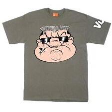 Viz Men's T Shirt Official Shot Dead Big Vern Design Green Small