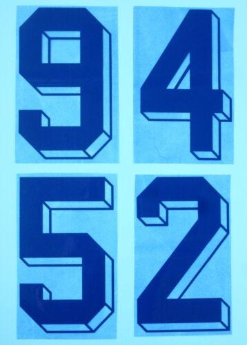 Flock Nummer number away Trikot jersey shirt Italia Italy Italien 1986-90