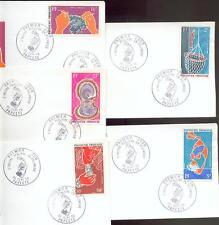 POLYNESIE 1970 PA34-38 FDC (D2828b