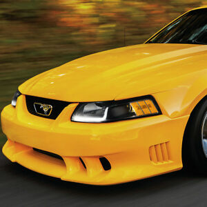 Image Is Loading FOR 99 04 FORD MUSTANG BLACK HOUSING AMBER