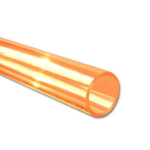 5 Stück außen 3,0 innen 2,0 mm L: 330 mm ASA Rundrohr orange transp