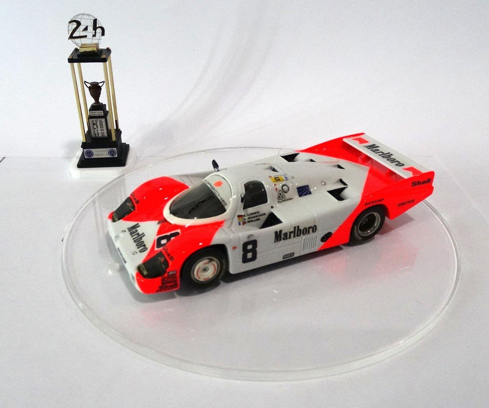 PORSCHE 956  8 MARLBoro Le Mans 1983 Built Monté Kit  no spark minichamps