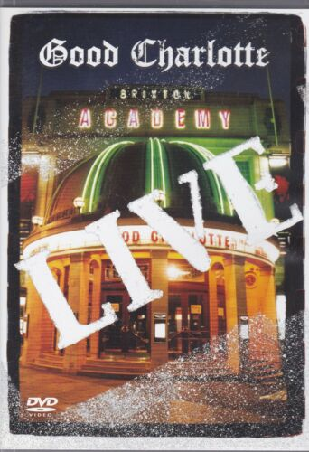 1 of 1 - GOOD CHARLOTTE - LIVE AT BRIXTON ACADEMY - DVD -  NEW -