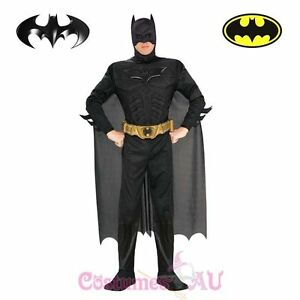 Mens-Licensed-Deluxe-Muscle-Chest-Batman-Costume-Adults-Dark-Knight-Halloween