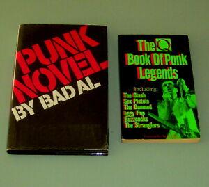 2 books PUNK LEGENDS UNDERGROUND MUSIC SEX DRUGS HEROIN PSYCHEDELIC