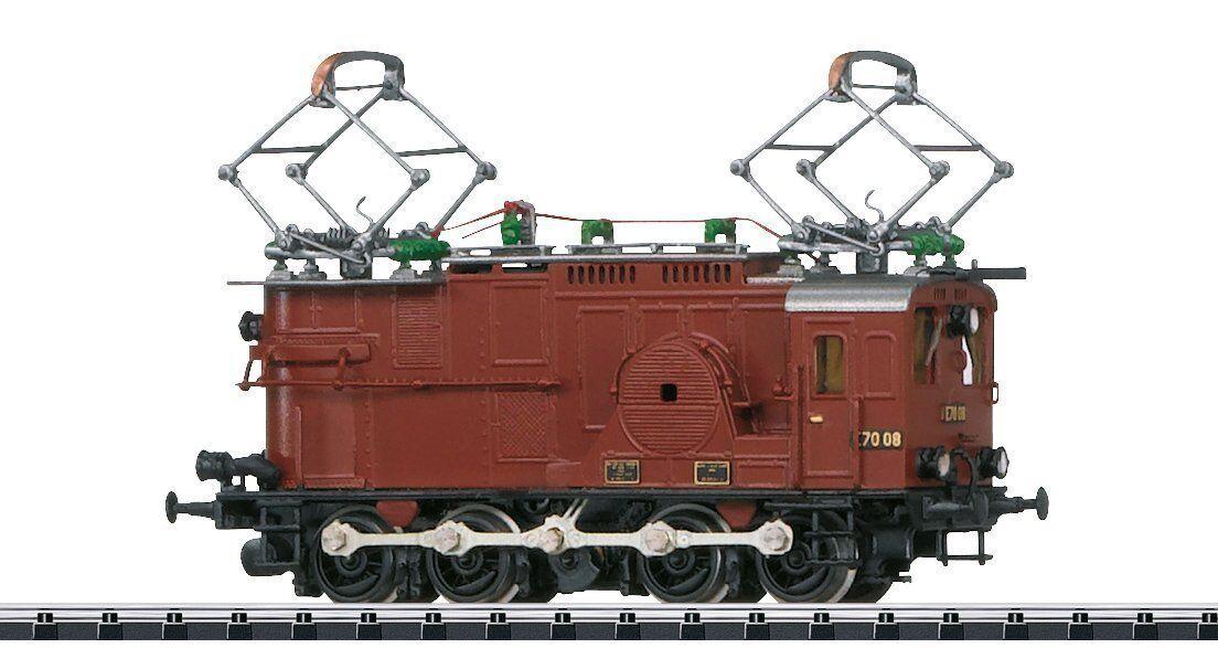 Minitrix E-Lok e70 08 DRG IN OTTONE-LAVoro a uomoO-modellololo 16672 NUOVO