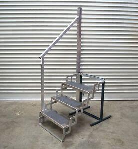 Aluminium-Scissor-Step-Trailer-Camper-Caravan-24-034-Wide-4-Step-SSA31394
