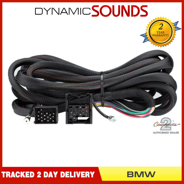 ct20bm05 iso wiring harness adaptor extension lead 6 5m for bmw 3, 5 series,