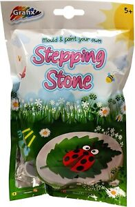 Stampo E Pittura il Tuo Stepping Stone Giardino Ornamento Bambini Arte Craft