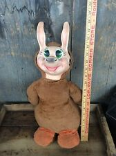Vintage Knickerbockers Hanna Barbera Quick Draw McDraw Plush Doll Rubber Face
