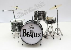Image Is Loading RINGO STARR THE BEATLES DRUM SET KIT