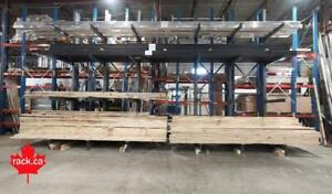 Structural Cantilever Racking In Stock - Made In Canada - Quick Ship to New Brunswick - Industrial storage rack New Brunswick Preview
