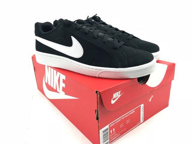 Nike Men s Court Royale Suede Shoe Black 819802-011 11 for sale ... caff5d8c3