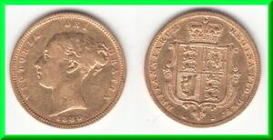 **** Grande-bretagne - Great-britain - Half Sovereign 1880 Victoria - Gold **** Dissipation Rapide De La Chaleur