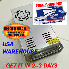 12v Dc 30a Regulated Switching Power Supply 360w Led Strip Light Usa Seller