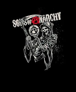 New Licensed Queen Size Sons Of Anarchy Soa Sam Crow Mink