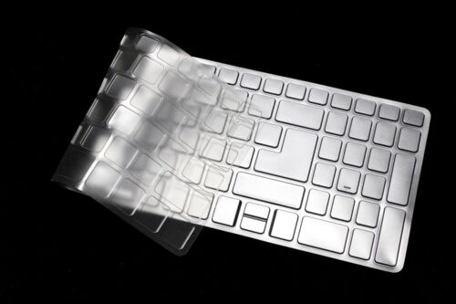 """Clear TPU Keyboard Protector For 17.3/"""" Acer aspire 7 A715-71G A717-72G laptop"""