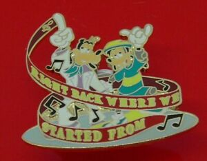 Used-Disney-Enamel-Pin-Badge-Goofy-Right-Back-Where-We-Started-From-Music-62