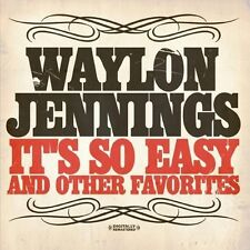 Waylon Jennings - It's So Easy & Other Favorites [New CD] Manufactured On Demand