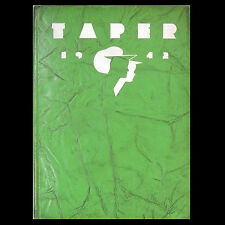 AMERICAN INTERNATIONAL COLLEGE Yearbook AIC 1942 TAPER Springfield Massachusetts