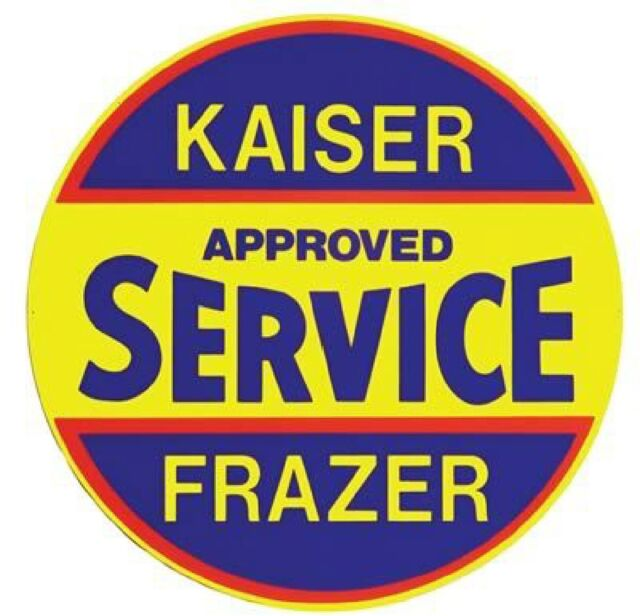 Kaiser Frazer Service  Sign Refrigerator  Magnet