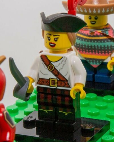 LEGO Series 20 Minifigures 71027 FREE SHIPPING /& IN HAND PIRATE GIRL