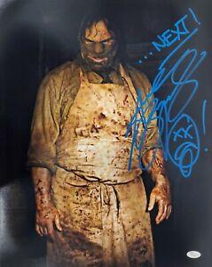Andrew-Bryniarski-Autograph-Signed-16x20-Photo-TX-Chainsaw-Massacre-JSA-COA
