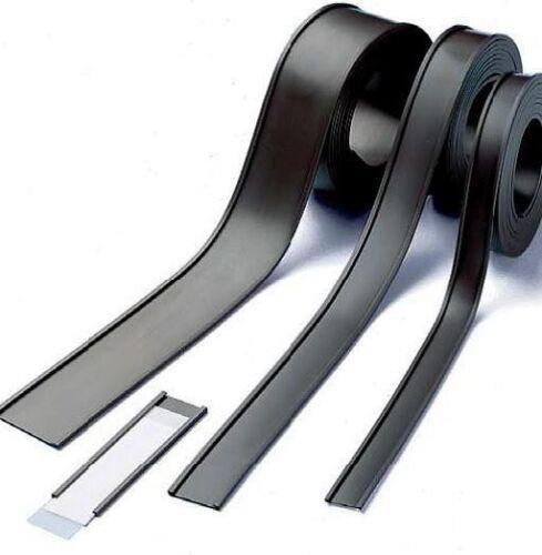 Meterware Magnet C-Profil Magnetische Etikettenhalter für Labels//Etiketten 10mm
