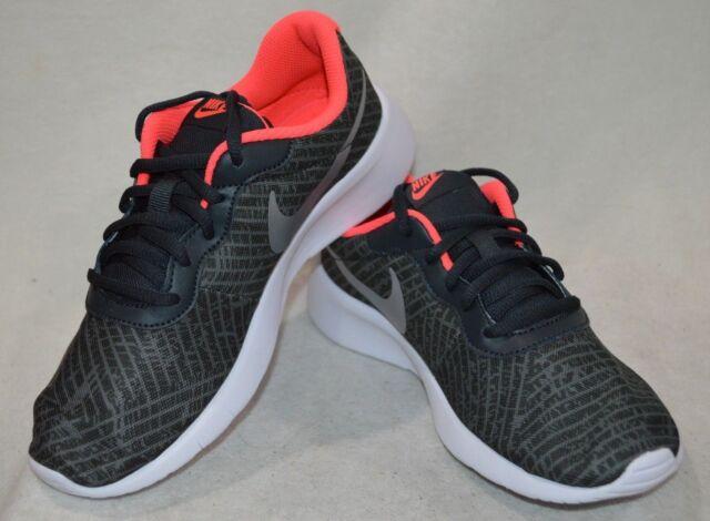Nike Tanjun Print (GS) Anthracite
