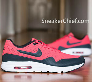 NIKE AIR MAX 1 ULTRA MOIRE COMFORT RUNNING SHOES RIO