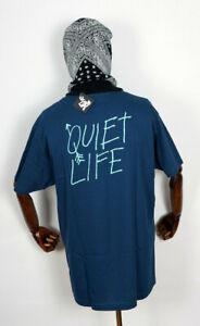 The-Quiet-Life-T-Shirt-Tee-Shirt-Arrow-Harbor-Blue-in-M-Streetwear