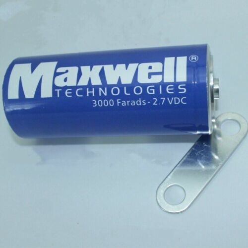 New Maxwell 2.7V3000F super capacitor K2 2.7V 3000F+Connecting Piece